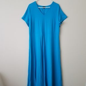 Talbots Vneck Maxi Dress